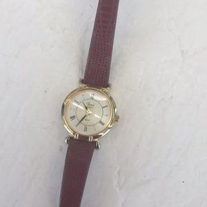 Timex Watch with leather band.